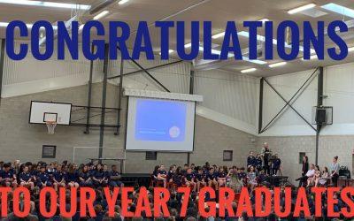 Year 7 Graduation Speech